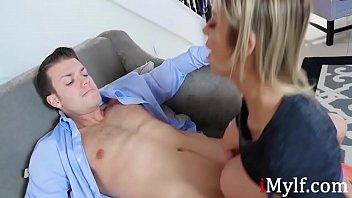 Blonde Nasty Mom Helps With Son's Confidence- Alexis Dawx Vorschaubild