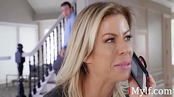 Blonde Nasty Mom Helps With Son's Confidence- Alexis Dawx thumbnail