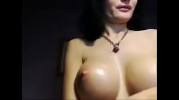 Dark Haried Euro Milf Oils Tits  - SexyStreamate.com