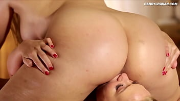 Alexis Texas in an Oil Lesbian Massage - Big Asses In Action!