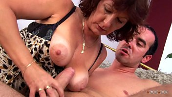 Really old boobs Mature prostitute satisfies his cock and takes the jizz on her face
