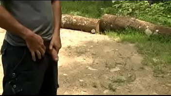 Dad and son cum outdoor thumbnail