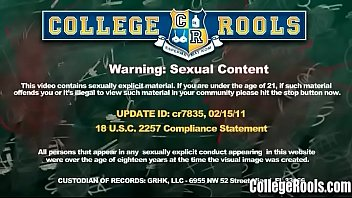 Amateur College Babes Get Banged Hard In The Dorm - CollegeRools.com