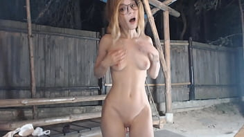 Cam girl got caught on live by stalker porn thumbnail