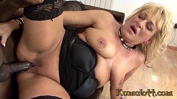 Kumalott - GrandMa Fuck By Huge Black Cock