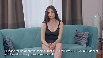 Stacey hot 18yo first time casting 5 min