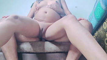 Hot indian home-made cowgirl creampie