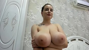 Miley Has Fun On Cam With Her Enormous Boobs