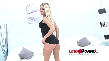 Piss drinking slut Laura Crystal takes serious anal punishment from three black guys 55 sec