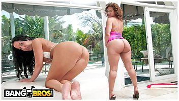 BANGBROS - Richelle Ryan and Bella Get Their Thick Butts Stuffed On Ass Parade!
