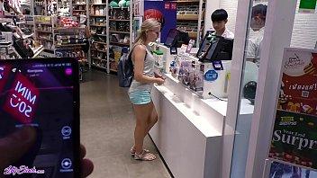 Remote Vibrator In Large Mall - Lot Of Fun With Letty Black porno izle