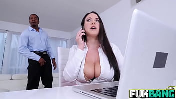 Angela White Busty Babe On Monster