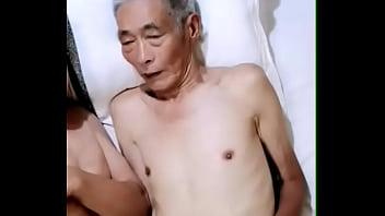 大屌胖老头操瘦老(2)