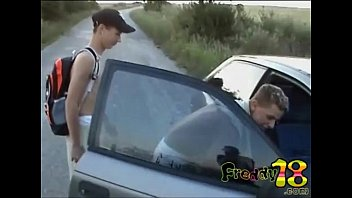 Teenboys gay fuck - Trio boys hitchhiking fun