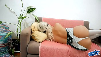 Incredible Blonde Taking The Hottest Nap Ever