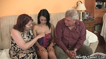 Young innocent sluts - Innocent girl is seduceed by granny and fucked by daddy