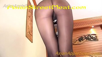 Pantyhose And Chain On Parquet Flooring