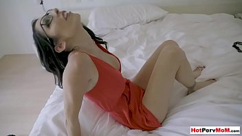MILF Stepmother Lets Son Penetrate Her Neglected Pussy
