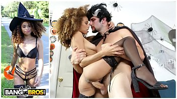 Sexy lion tamer costume gold coast - Bangbros - naughty ebony witch cecilia lion gets the perfect treat
