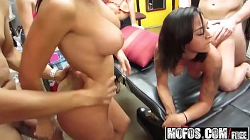 Mofos - Real Slut Party - Tits for Tatts starring (Kylee Moore, Veronica)