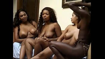 Black lesbians are doing lesbian fun foursome