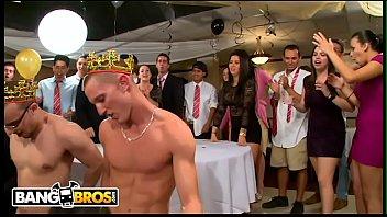 BANGBROS - Jamie Valentine, Vronica Rodriguez & Rikki Six Crash A College Party