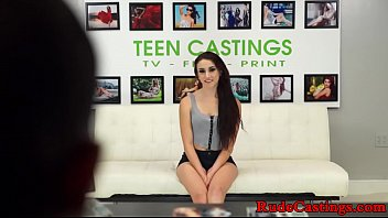 Casting Amateur Teen Assfucked In BDSM Action