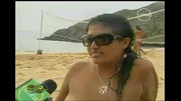 playa nudista en chimbote caleta colorada