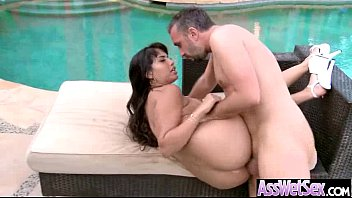 Curvy Big Butt Girl Get Oiled And Nailed In Ass Mov-28