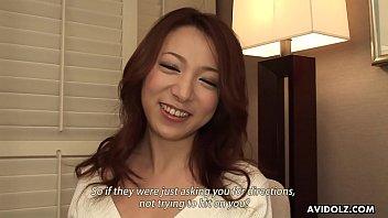 Japanese housewife, Honoka Sakura is sucking a stranger's dick, uncensored thumbnail