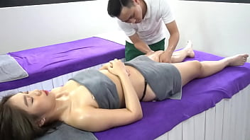young japanese married massage