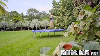 Mofos - Pervs On Patrol - Big Tit Babe Twerks on Trampoline starring  Ivy Rose and Bambino