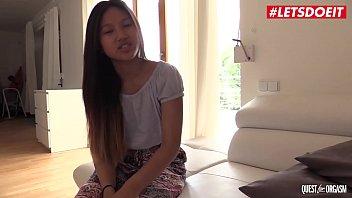 LETSDOEIT - Asian Cutie May Thai Sensually Masturbates On Cam And Has Hot Orgasm