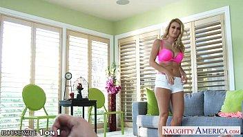 Superb blonde housewife Natalia Starr take cock in POV porno izle