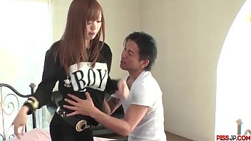 Fantastic foreplay and sex with busty Asian Buruma Aoi - More at Pissjp.com