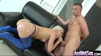 Curvy Ass Girl (anikka albrite) Get Oiled And Anal Hard Sex movie-08 preview image