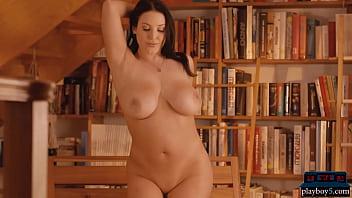Big Natural Boobs Pornstar Milf Angela White Solo Striptease And Flashing 6 Min