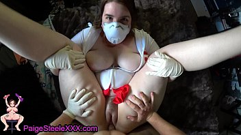 Nurse Tests Out Her PPE During CaronaVirus Quarantine porno izle