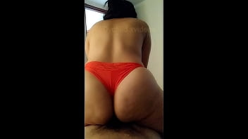 Young Latina With Big Ass Gets Intense Orgasm