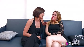 Chatting with 'em: Natalia and Lucia, two hot milfs who are hungry of young meat thumbnail