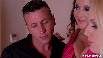 Busty Milfs Laura Orsolya & Angel Wicky in Wild Anal Threesome