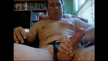 Gay men jerking off 52 year od man masturbating for cum.