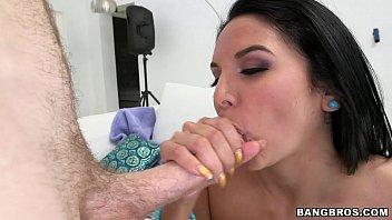Latina Slut works on White Guys Cock 6 min