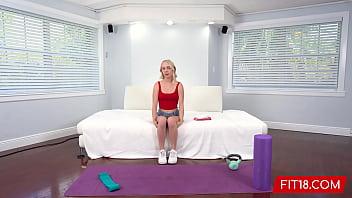 Fit18 - Braylin Bailey - Skinny Amateur Fitness Model Wants A Creampie