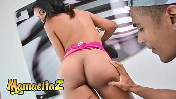 MAMACITAZ - (Alex Moreno, Dayana Cruz) - Perfect Ass Latina Teen Gets Her Pussy Slammed Hard