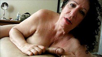 Brunette Granny Sucks Dick Homemade