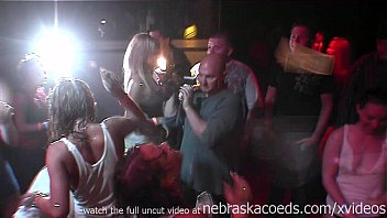 hot and slutty club girls wet tshirt shower contest in ybor city florida preview image