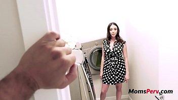 Mom Needs Son's Help For Laundry- Ariella Ferrera