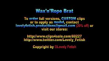 Clip 161Rfat Wax'n'rope Brat - 14:13Min, Sale: $11