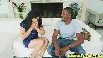 Anal black busty Asian babe buttfucked by black bloke